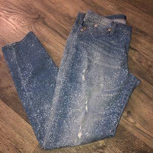 Rock & Republic Acid Wash Jeans